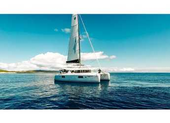 Rent a catamaran in ACI Marina Slano - Lagoon 42 (2017) equipped with generator, A/C (saloon+cabins)