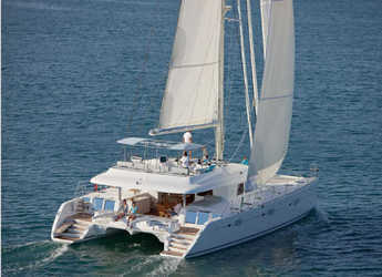 Rent a catamaran in Mykonos - Lagoon 620