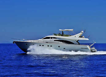 Rent a yacht in Alimos Marina Kalamaki - Ferretti 680