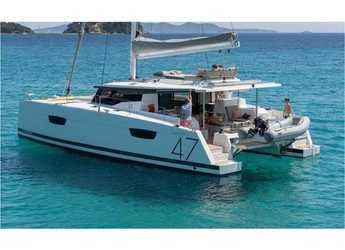 Alquilar catamarán en Port Lavrion - Fountaine Pajot 47 SAONA(GEN,AC,WATERMAKER)