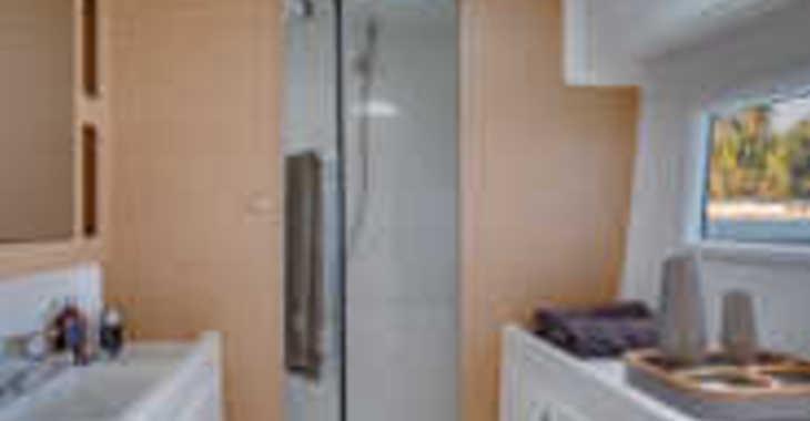 Rent a catamaran in Mykonos - Lagoon 42