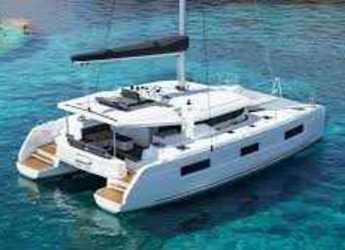 Rent a catamaran in Port Lavrion - Lagoon 46