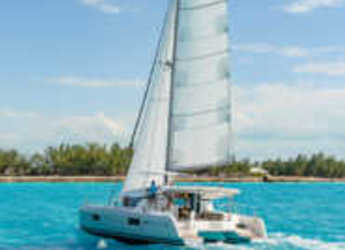 Rent a catamaran in Port Lavrion - Lagoon 42