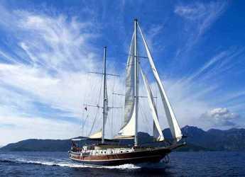 Rent a schooner in Netsel Marina - Gulet Derya Deniz
