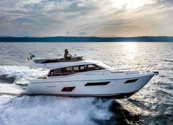 Rent a yacht in Marina Cala D' Or - Ferretti Yachts 450