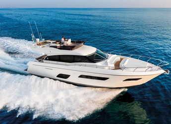 Alquilar yate en Marina Frapa - Ferretti Yachts 550