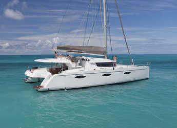 Rent a catamaran in American Yacht Harbor - Sanya 57