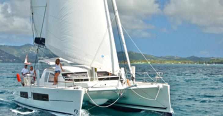Rent a catamaran in Marina Le Marin - Catana 42 Carbon Infusion
