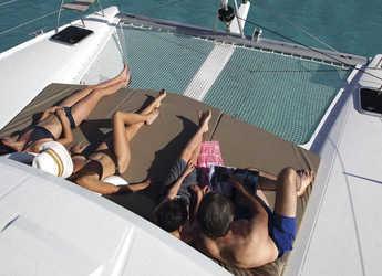 Rent a catamaran in Nanny Cay - Lucia 40