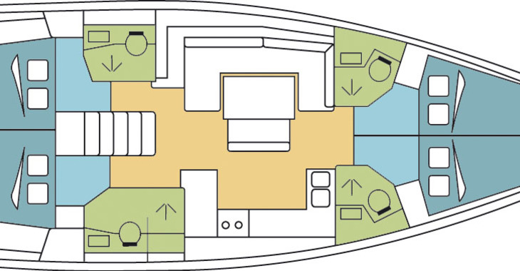 Alquilar velero Oceanis 48 en Marina Le Marin, Le Marin