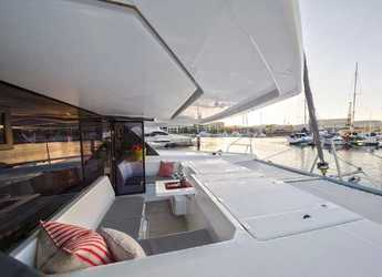 Rent a catamaran in Fort Burt Marina - Leopard 45