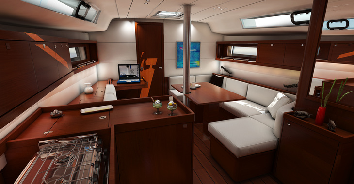 Rent a sailboat in Marina Le Marin - Oceanis 41