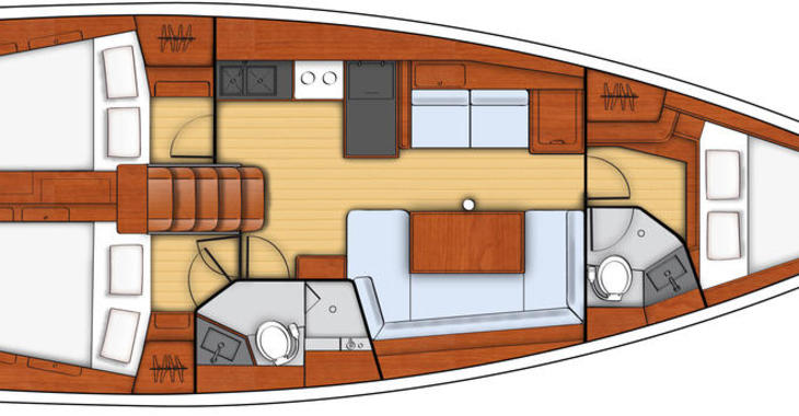 Rent a sailboat Oceanis 41 in Marina Le Marin, Le Marin