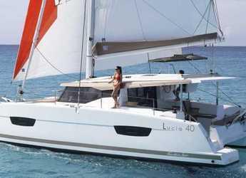 Rent a catamaran in Fort Burt Marina - Lucia 40