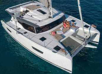 Rent a catamaran in Port Lavrion - ASTREA 42