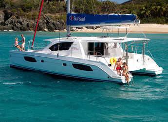 Rent a catamaran in Marina Zeas - Sunsail 444 (Classic)