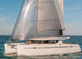 Chartern Sie katamaran in Marina Ibiza - Lagoon 450s