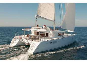 Rent a catamaran in Orhaniye marina - Lagoon 450