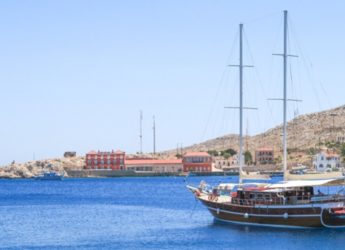 Rent a schooner in Kos Port - Gulet Yacht Athen.A