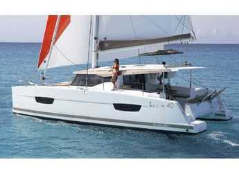 Rent a catamaran in ACI Pomer - Fountaine Pajot 40
