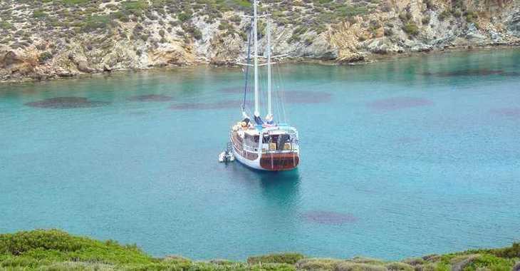 Rent a schooner in Mykonos - Gulet Anatolie