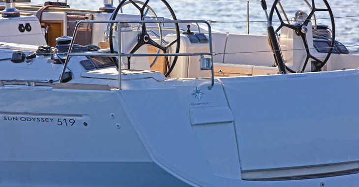 Alquilar velero en Ajaccio - Sun Odyssey 519