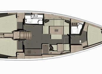 Alquilar velero Dufour 412 Grand Large en Ajaccio, Corcega