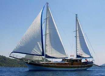 Rent a schooner in Bodrum Marina - Gulet Ya Selam
