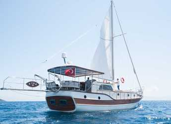 Rent a schooner in Bodrum Marina - Gulet Anka