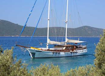 Rent a schooner in Bodrum Marina - Gulet Ariell 1
