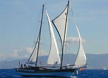 Rent a schooner in Bodrum Marina - Gulet Aliko