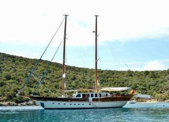 Rent a schooner in Bodrum Marina - Gulet Artemisia