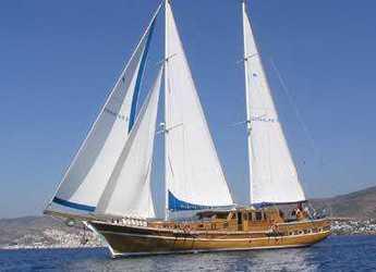 Rent a schooner in Bodrum Marina - Gulet Yildizhanlar