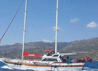 Rent a schooner in Ece Marina - Gulet Blu Dream
