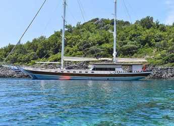 Rent a schooner in Port Gocëk Marina - Gulet Luce del mare
