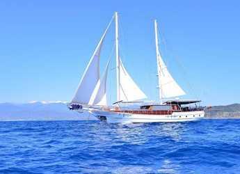 Rent a schooner in Port Gocëk Marina - Gulet M/S Mehmet Ayaz