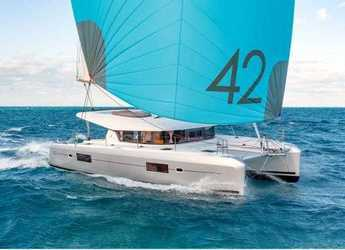 Chartern Sie katamaran in Marina Frapa - Lagoon 42