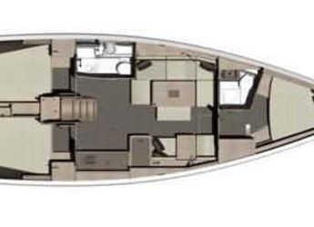 Rent a sailboat in Ajaccio - Dufour 412