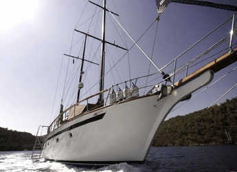 Rent a schooner in Bodrum Marina - Gulet Wood