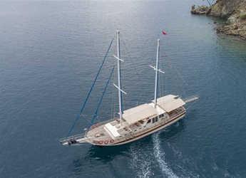 Rent a schooner in Ece Marina - Gulet Faralya