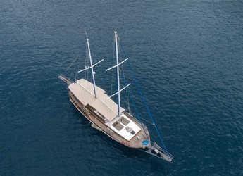 Rent a schooner in Ece Marina - Gulet Ceylan