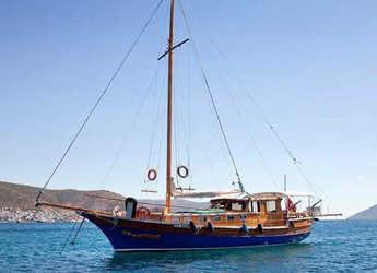 Rent a schooner in Bodrum Marina - Gulet Bolero 1