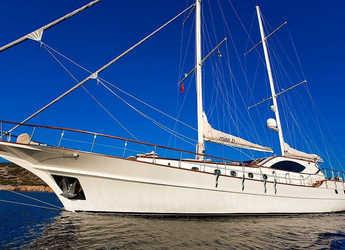 Rent a schooner in Bodrum Marina - Gulet Miss b