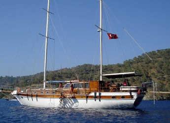Rent a schooner in Ece Marina - Gulet Aria