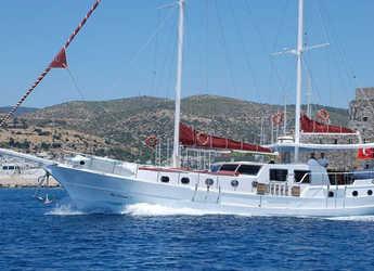 Rent a schooner in Bodrum Marina - Gulet Blue Diamond