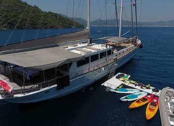 Rent a schooner in Bodrum Marina - Gulet White soul