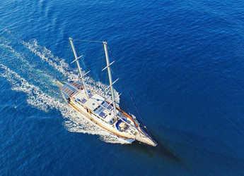 Rent a schooner in Port Gocëk Marina - Gulet Altair