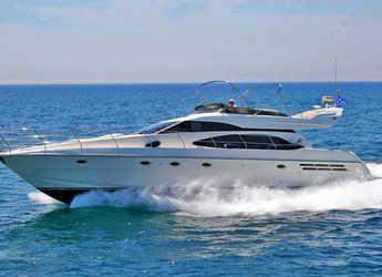 Rent a yacht in Alimos Marina Kalamaki - Azimut 58