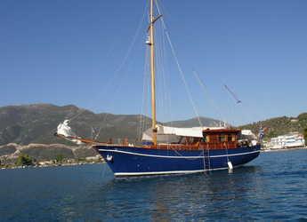 Rent a schooner in Alimos Marina Kalamaki - Gulet Aegeas
