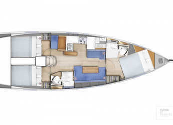 Rent a sailboat in Salerno - Sun Odyssey 410